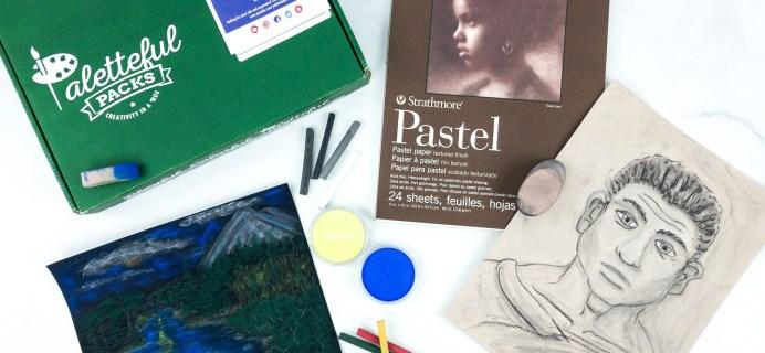 Paletteful Packs Subscription Box Review + Coupon – Premier Pack Pan Pastel