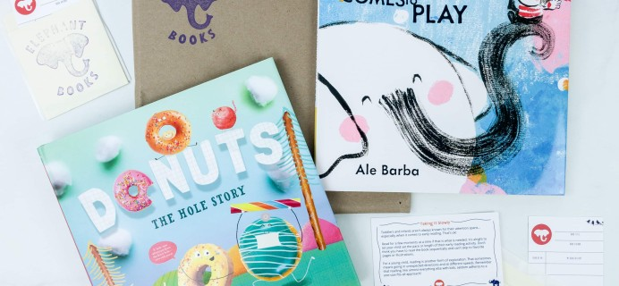 Elephant Books September 2019 Subscription Box Reviews – PICTURE BOOKS