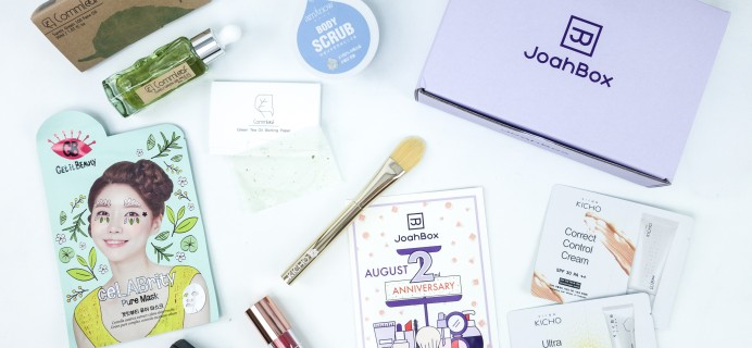 JoahBox August 2019 Subscription Box Review + Coupon