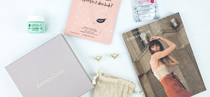 Emma & Chloe August 2019 Subscription Box Review