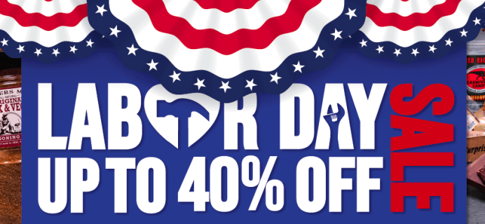 Man Crates Labor Day Sale: Get Up To 40% Off!