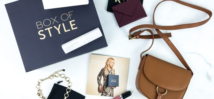 Box of Style by Rachel Zoe Fall 2019 Review + Coupon
