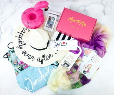 Miss To Mrs Box Cyber Monday Deal: Get 50% off your first box!