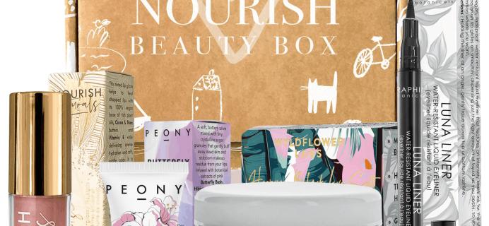 Nourish Beauty Box September 2019 Full Spoilers + Coupon!