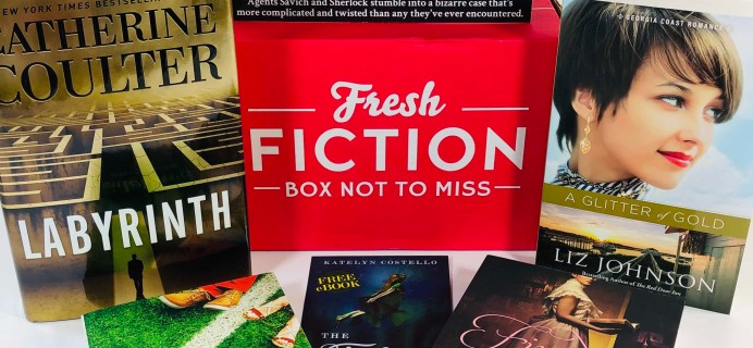 Fresh Fiction Box September 2019 Subscription Box Review + Coupon