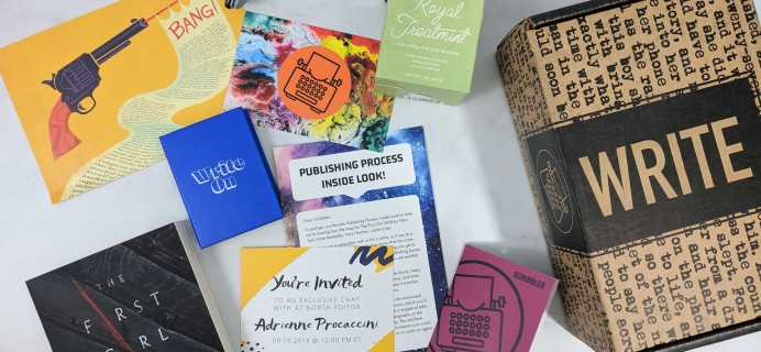 Scribbler August 2019 Subscription Box Review