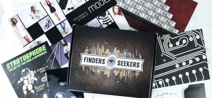 Finders Seekers Subscription Box Review + Coupon – SIN CITY