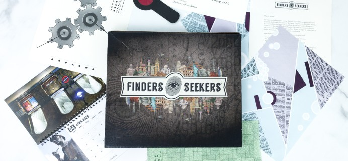Finders Seekers Subscription Box Review + Coupon – LONDON