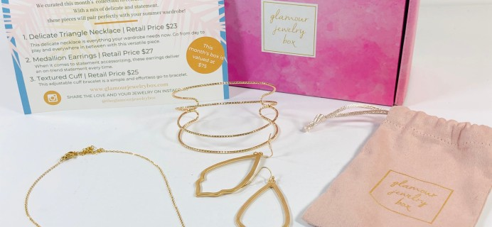 Glamour Jewelry Box August 2019 Subscription Box Review + Coupon