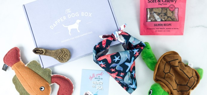 The Dapper Dog Box August 2019 Subscription Box Review + Coupon