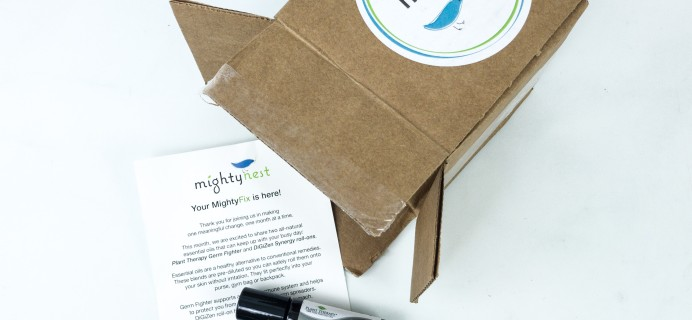 Mighty Fix September 2019 Review + First Month $3 Coupon!