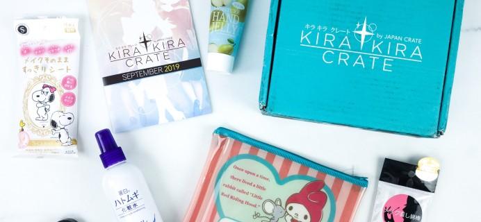 Kira Kira Crate September 2019 Subscription Box Review + Coupon