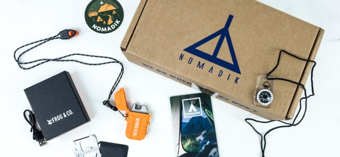 Nomadik August 2019 Subscription Box Review + Coupon