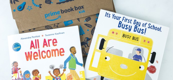Amazon Book Box Kids Review – AGE 3-5 September 2019