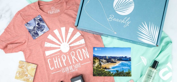 Beachly Women's Box Fall 2019 Subscription Box Review + Coupon!