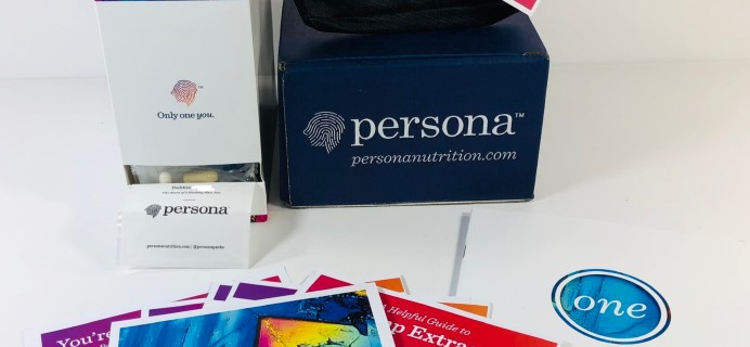 Persona Subscription Box Review + Coupon!