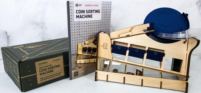 Eureka Crate Review + Coupon – COIN SORTING MACHINE