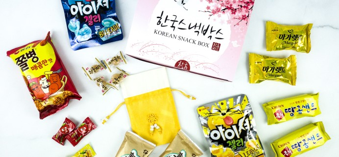 Korean Snack Box September 2019 Subscription Box Review + Coupon