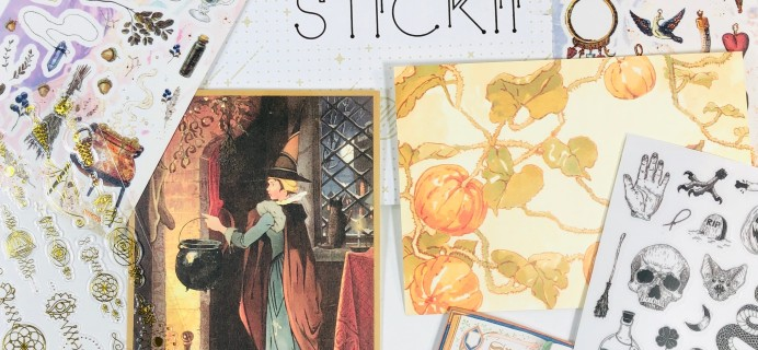 STICKII Club September 2019 Subscription Box Review – Retro Pack!