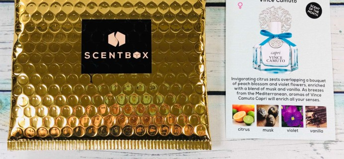 Scent Box September 2019 Subscription Box Review + 50% Off Coupon!