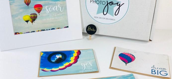 Photo Joy Box September 2019 Subscription Box Review + Coupon