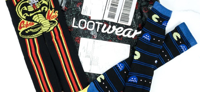 Loot Socks by Loot Crate April 2019 Subscription Box Review & Coupon