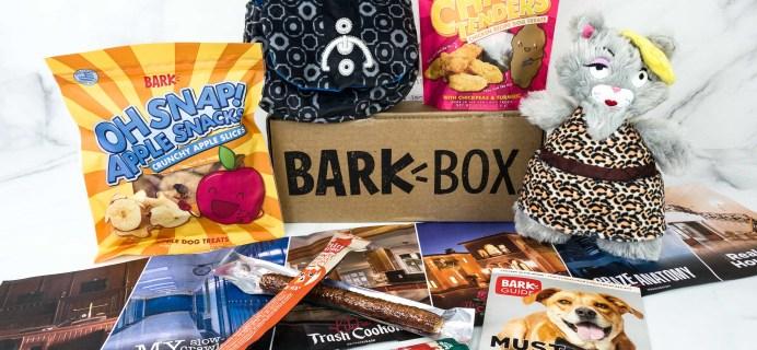 Barkbox September 2019 Subscription Box Review + Coupon – Large Dog
