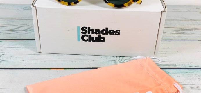 Shades Club September 2019 Subscription Box Review + Coupon