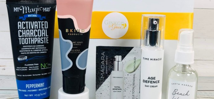 Ginkgo & Grace September-October 2019 Subscription Box Review