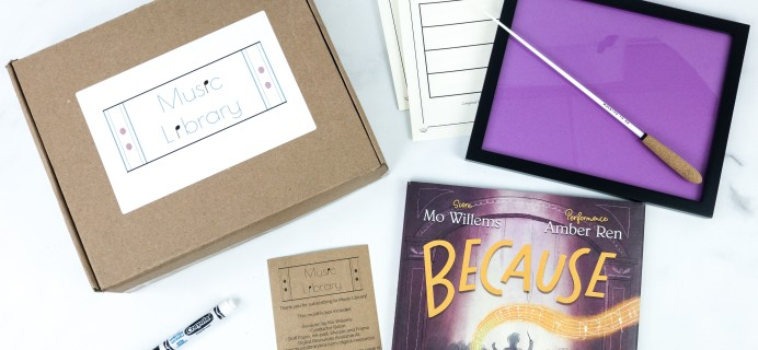 Music Library September 2019 Subscription Box Review + Coupon