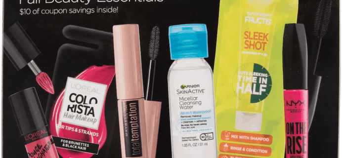 L'Oreal Paris Fall Beauty Essentials Kit Available Now + Full Spoilers!
