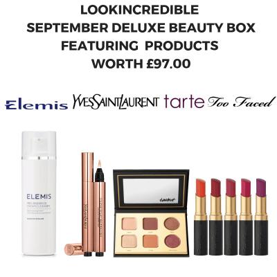 Look Incredible Deluxe Beauty Box September 2019 Full Spoilers!