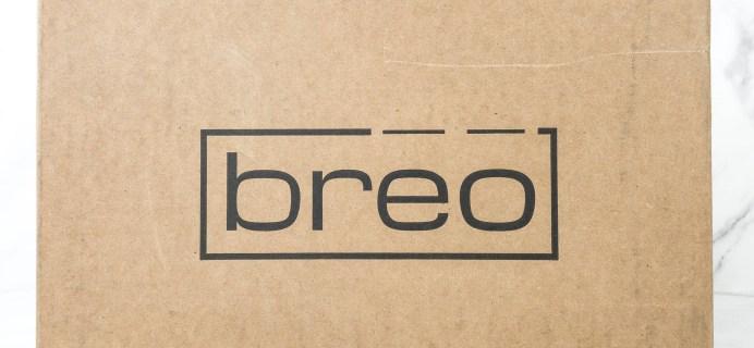 Breo Box Subscription Box Review + Coupon – Fall 2019
