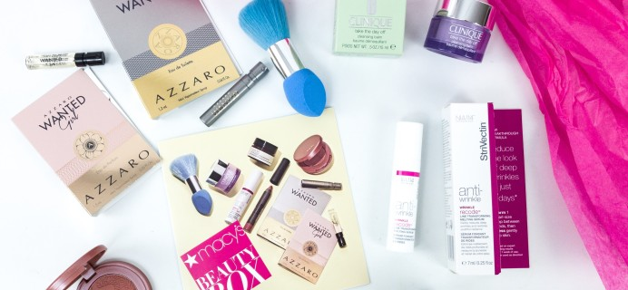 Macy's Beauty Box September 2019 Subscription Box Review