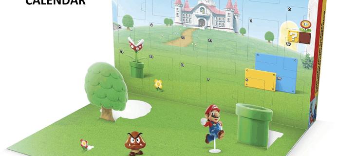 2019 Nintendo Super Mario Advent Calendar Available Now + Spoilers!