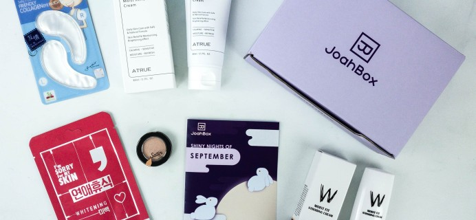 JoahBox September 2019 Subscription Box Review + Coupon