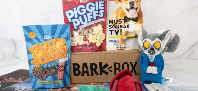 Barkbox September 2019 Subscription Box Review + Coupon