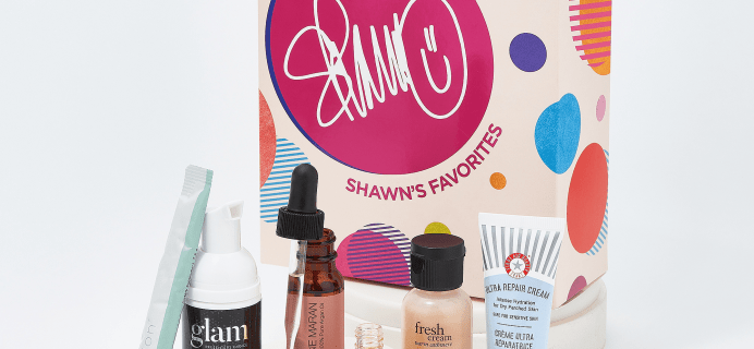QVC Beauty Shawn's Favorites 7-Piece Sample Collection Available Now!
