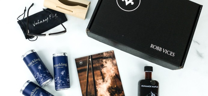 Robb Vices August 2019 Subscription Box Review