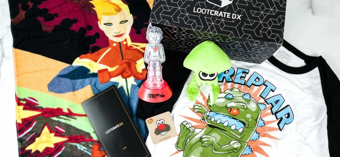 Loot Crate DX June 2019 Subscription Box Review & Coupon