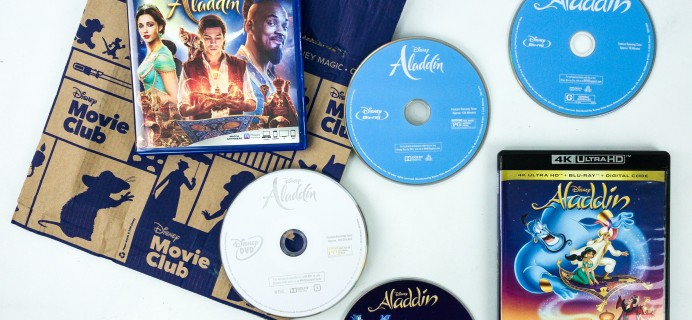 Disney Movie Club Review + Coupon – ALADDIN!