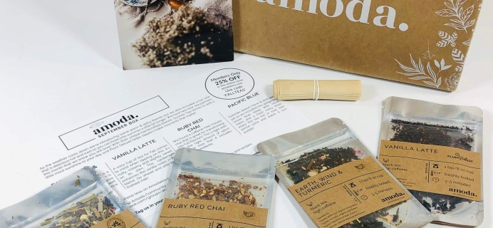 Amoda Tea September 2019 Subscription Box Review + Coupon!