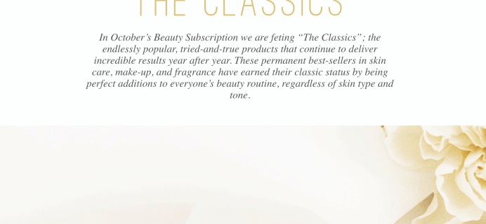 Sisley Paris Beauty Box October 2019 Full Spoilers