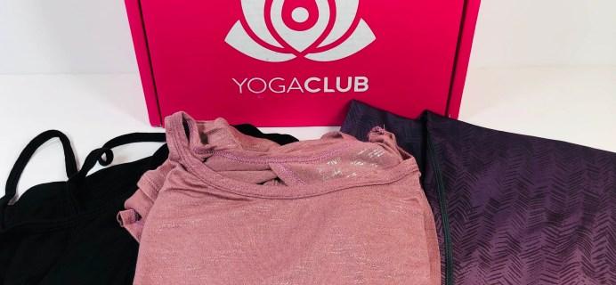 YogaClub Subscription Box Review + Coupon – September 2019 Plus Size