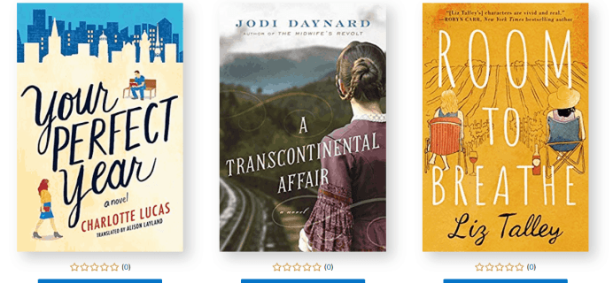 Amazon First Reads October 2019 Selections: 1 Book Free for Amazon Prime Members