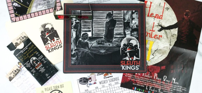 Sleuth Kings Subscription Box Review + Coupons – Case 024 FRAMED