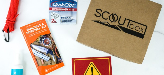 SCOUTbox September 2019 Subscription Box Review + Coupon