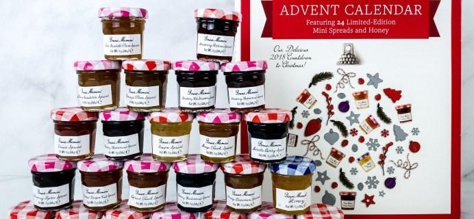 Bonne Maman Advent Calendar Mini Review 2018