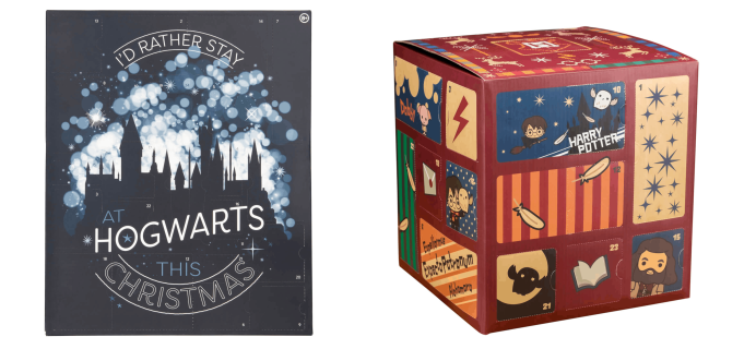 New Harry Potter Advent Calendars Available For Preorder Now!