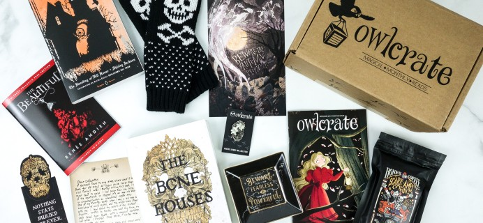 OwlCrate September 2019 Subscription Box Review + Coupon